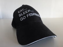 Eat - Sleep - Go Fishing Cap